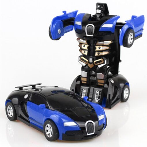 Rc Transformer 2 in 1 RC Car Robot Toy Anime Action Figure Toys Interactive toys Collision