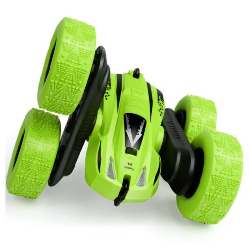 Remote Control Car 2 4G 360 rotating Tumbling Bucket Twisting Double sided Stunt Car Remote Control