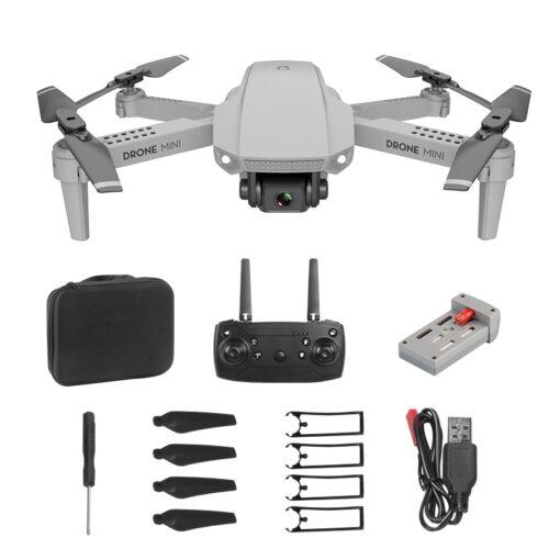 Remote Control Toys Drone E88 WIFI 30W 1080P 4K HD Wide Angle Camera Foldable Selfie RC 1