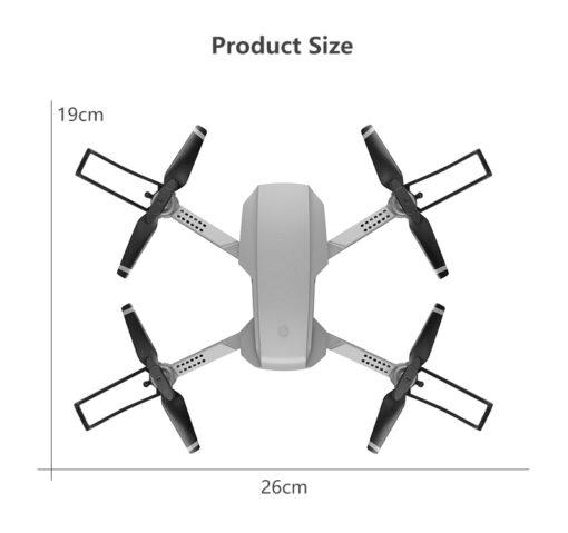 Remote Control Toys Drone E88 WIFI 30W 1080P 4K HD Wide Angle Camera Foldable Selfie RC 5