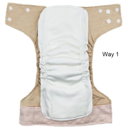 Reusable Bamboo Cotton Insert Baby Cloth Diaper Mat Bamboo Charcoal Nappy Inserts Changing Liners Cotton Insert 3