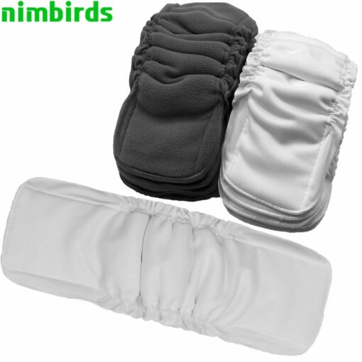 Reusable Bamboo Cotton Insert Baby Cloth Diaper Mat Bamboo Charcoal Nappy Inserts Changing Liners Cotton Insert