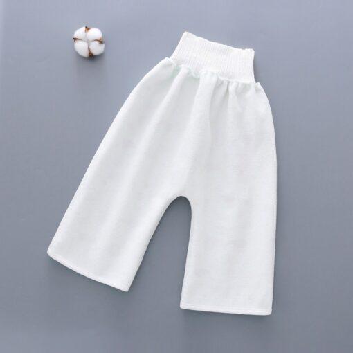 Reusable Children Diaper Skirt Training Skirt Pure Cotton High Waist Waterproof Diaper Skirt Baby Cloth Diaper 4