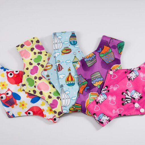 Reusable Cloth Menstrual Pads Bamboo charcoal Absorbency sanitary napkin washable environmental protection maternity Eco Life 2