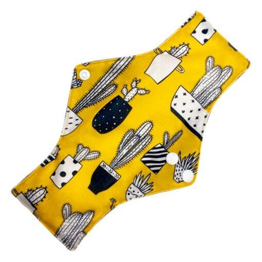 Reusable Cloth Menstrual Pads Bamboo charcoal Absorbency sanitary napkin washable environmental protection maternity Eco Life 4