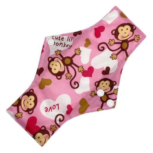 Reusable Cloth Menstrual Pads Bamboo charcoal Absorbency sanitary napkin washable environmental protection maternity Eco Life 5