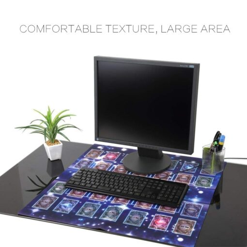 Rubber Play Mat 60x60cm Galaxy Style Competition Pad Playmat For Yu gi oh Card 2