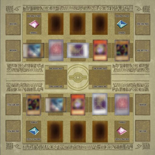 Rubber Play Mat 60x60cm Galaxy Style Competition Pad Playmat For Yu gi oh Card 3