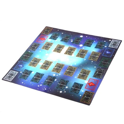 Rubber Play Mat 60x60cm Galaxy Style Competition Pad Playmat For Yu gi oh Card Folded Rolled 1