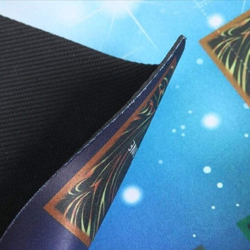 Rubber Play Mat 60x60cm Galaxy Style Competition Pad Playmat For Yu gi oh Card Folded Rolled 5