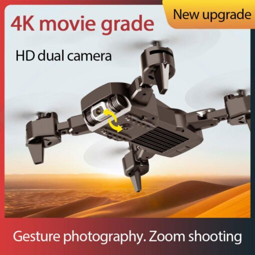 S60 RC Drone Helicopter WiFi FPV With Camera 4K HD Aerial Photography RC Quadcopter Folding Drone 1