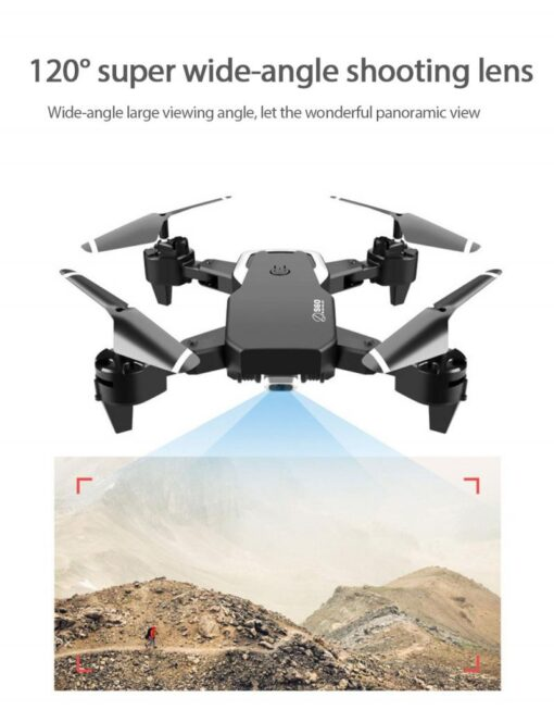 S60 RC Drone Helicopter WiFi FPV With Camera 4K HD Aerial Photography RC Quadcopter Folding Drone 4