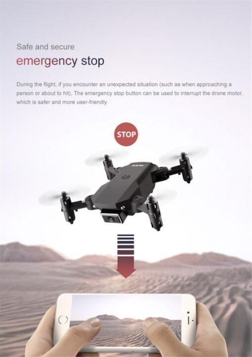 S66 Mini Drone Wifi Camera Live Video Dron 4K Quadcopter With FPV 4K FPV RC Quadrocopter 2
