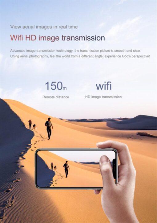 S66 Mini Drone Wifi Camera Live Video Dron 4K Quadcopter With FPV 4K FPV RC Quadrocopter 3