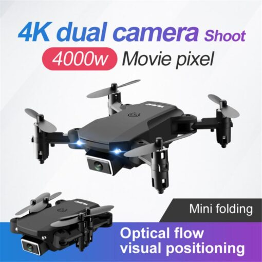 S66 Mini RC Drone 4K HD Camera Professional Aerial Photography Helicopter Gravity Induction Folding Quadcopter RC 1