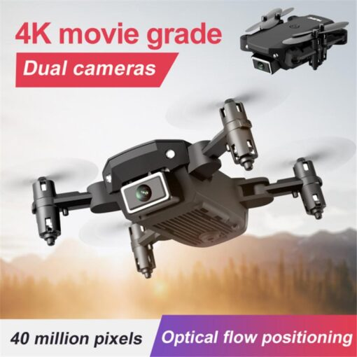 S66 Mini RC Drone 4K HD Camera Professional Aerial Photography Helicopter Gravity Induction Folding Quadcopter RC 2