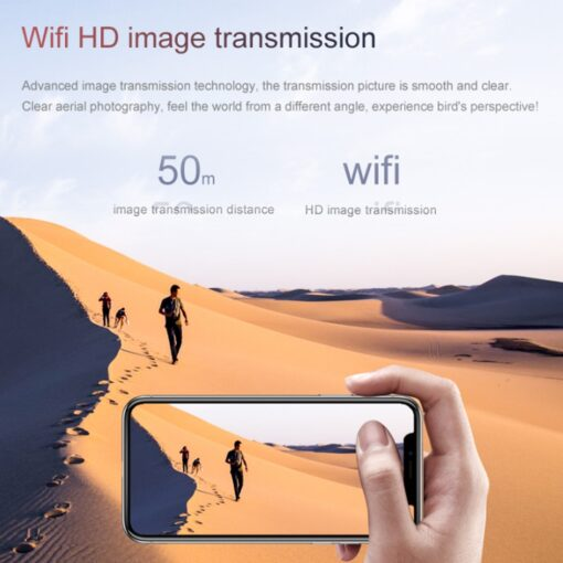 S66 Mini RC Drone 4K HD Camera Professional Aerial Photography Helicopter WiFi Fpv Gravity Induction Folding 5
