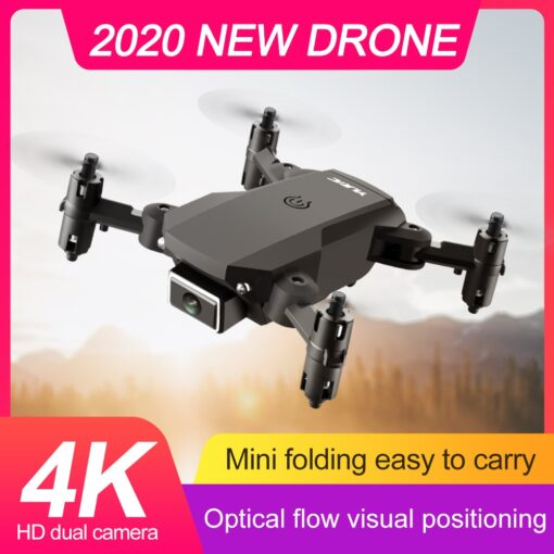 S66 Mini RC Drone 4K HD Camera Professional Aerial Photography Helicopter WiFi Fpv Gravity Induction Folding