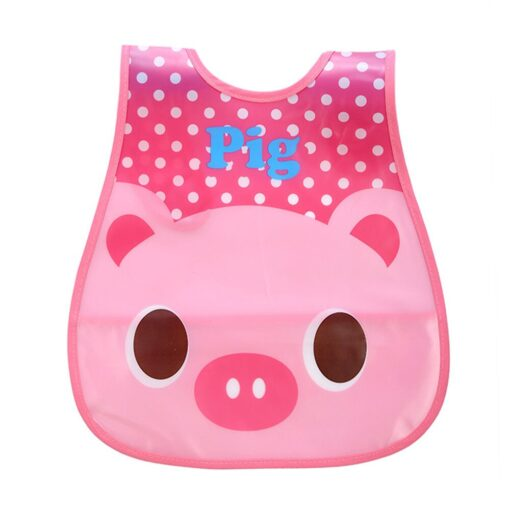 SAGACE Baby Bibs Cartoon Waterproof Bib Newborn Feeding Infant Baby Kid Burp Cloths Girls Boys Saliva 1