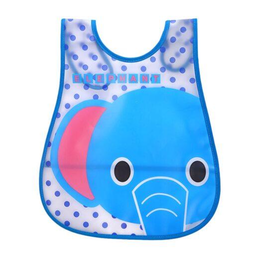 SAGACE Baby Bibs Cartoon Waterproof Bib Newborn Feeding Infant Baby Kid Burp Cloths Girls Boys Saliva 2
