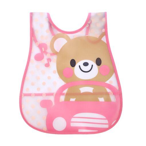 SAGACE Baby Bibs Cartoon Waterproof Bib Newborn Feeding Infant Baby Kid Burp Cloths Girls Boys Saliva