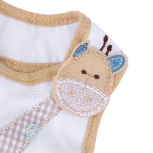 SAGACE Bibs Burp Cloths baby accessories Children s 3 Layer waterproof apron Cute towel Giraffe 19Apl9 2