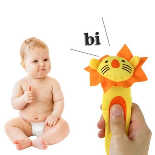 SAGACE SAGACE Baby Rattles Mobiles baby toys Toddler Children Kid Mobile play Animal plush BB Stick 1