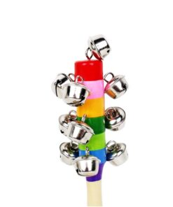 SAGACE SAGACE Baby Rattles Mobiles baby toys Toddler Children Kid Mobile play Colorful Ringing bell SL 5