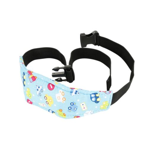 Safety Adjustable Head Holder Sleep Nap Aid Head Support Belt For Child Baby Kids Stroller Car 1