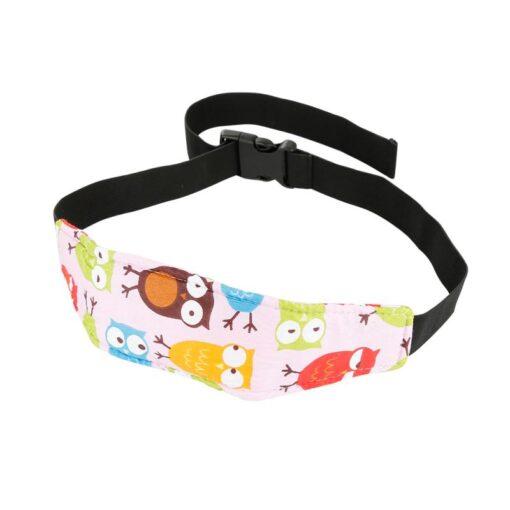 Safety Adjustable Head Holder Sleep Nap Aid Head Support Belt For Child Baby Kids Stroller Car 4