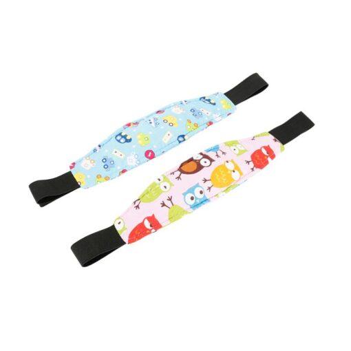 Safety Adjustable Head Holder Sleep Nap Aid Head Support Belt For Child Baby Kids Stroller Car 5
