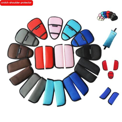 Safety belt Crotch shoulder protector for Baby stroller dinner chair Baby car Bebe accessories Yoya plus