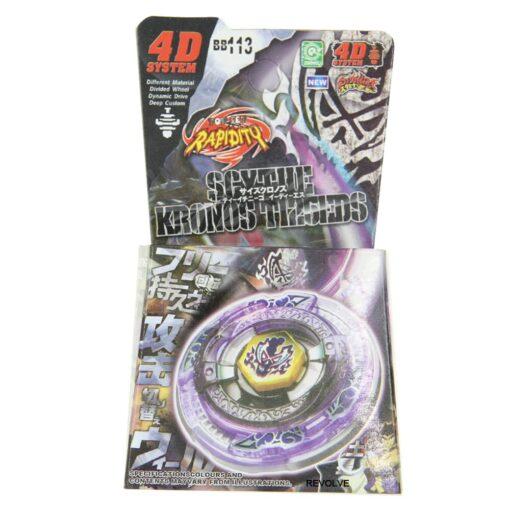 Scythe Kronos Metal Fight 4D Spinning Top BB 113 Kid Toy Drop Shopping