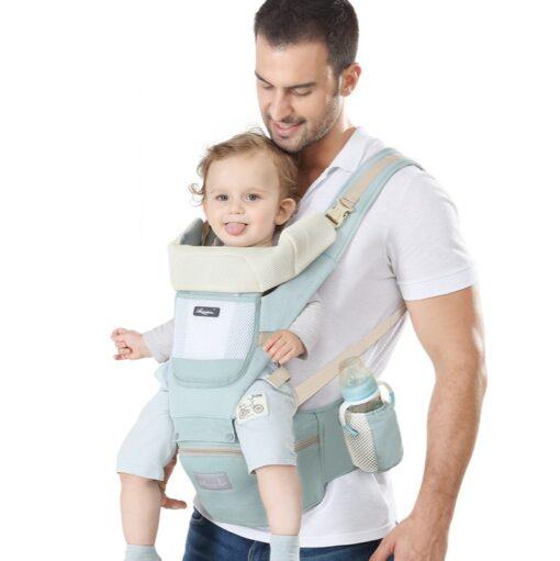 Sling Baby Carrier Ergonomic Waist Stool Cotton Multi function Holding Summer Artifact Hipseat Accessories Stuff Wrap 1