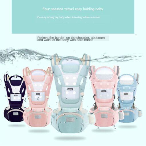 Sling Baby Carrier Ergonomic Waist Stool Cotton Multi function Holding Summer Artifact Hipseat Accessories Stuff Wrap 2