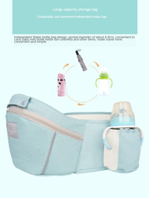 Sling Baby Carrier Ergonomic Waist Stool Cotton Multi function Holding Summer Artifact Hipseat Accessories Stuff Wrap 3