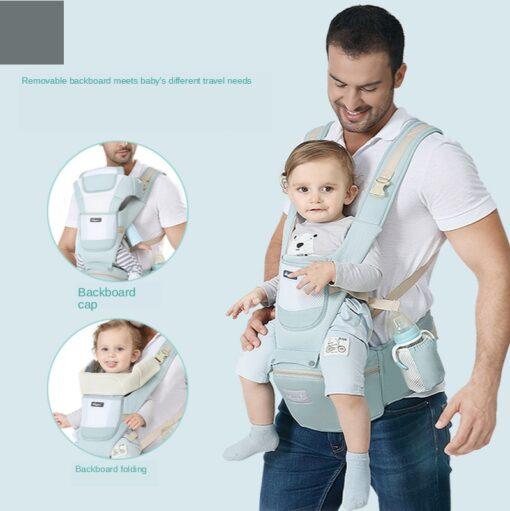 Sling Baby Carrier Ergonomic Waist Stool Cotton Multi function Holding Summer Artifact Hipseat Accessories Stuff Wrap 4