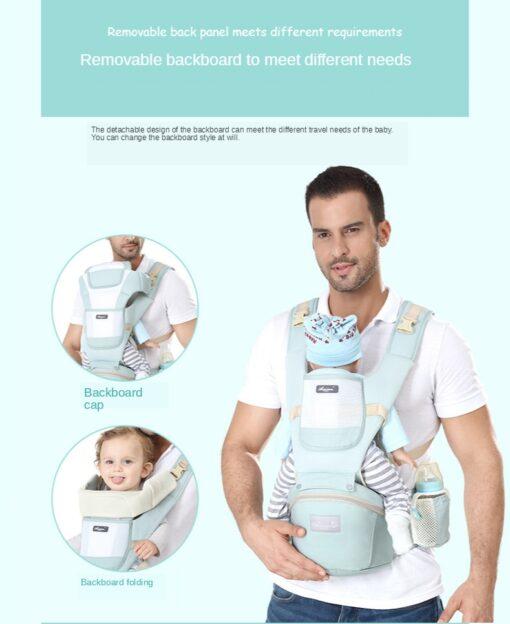 Sling Baby Carrier Ergonomic Waist Stool Cotton Multi function Holding Summer Artifact Hipseat Accessories Stuff Wrap 5