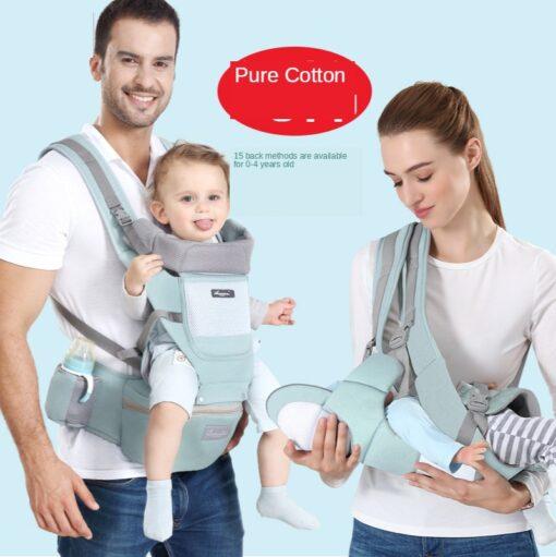 Sling Baby Carrier Ergonomic Waist Stool Cotton Multi function Holding Summer Artifact Hipseat Accessories Stuff Wrap