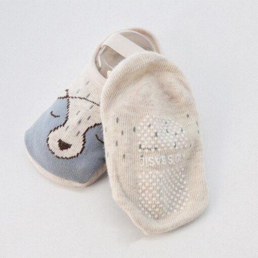 Socks Leg Warme Baby Socks Floor Non slip Cotton Cartoon Doll Socks Baby Toddlers shoes And 1