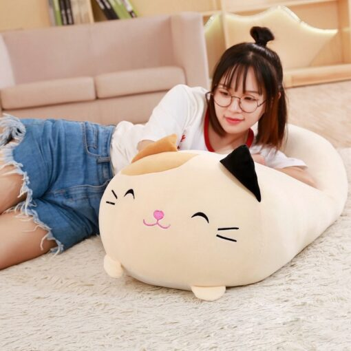 Soft Animal Cartoon Pillow Cushion Cute Fat Dog Cat Totoro Penguin Pig Frog Plush Toy Stuffed 2