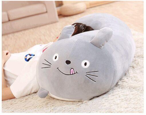Soft Animal Cartoon Pillow Cushion Cute Fat Dog Cat Totoro Penguin Pig Frog Plush Toy Stuffed 4