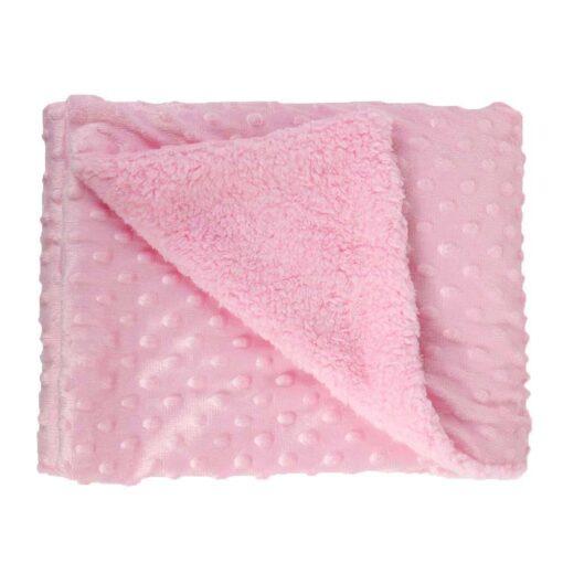 Soft Baby Stroller Sleep Cover Baby Blankets Warm Fleece Newborn Infant Bedding Quilt Swaddling Wrap Kids 4