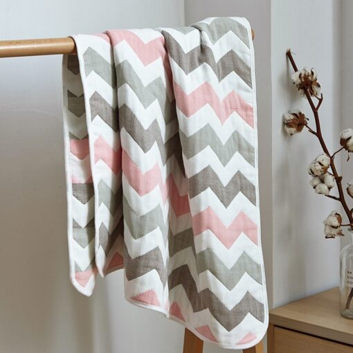 Soft Breathable Baby Blanket Newborn Products 6 Layers Muslin Cotton Growth Baby Blanket Newborn Baby Bath 3