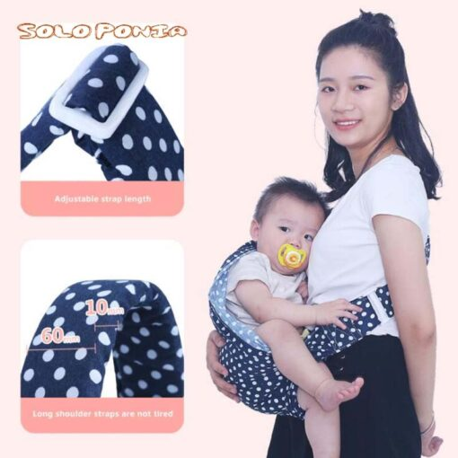 Soft Infant Wrap 0 3Y Baby Carrier Sling For Newborns Breathable Wrap Hipseat Breastfeed Birth Nursing 1