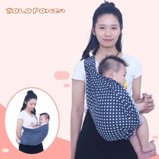 Soft Infant Wrap 0 3Y Baby Carrier Sling For Newborns Breathable Wrap Hipseat Breastfeed Birth Nursing 4