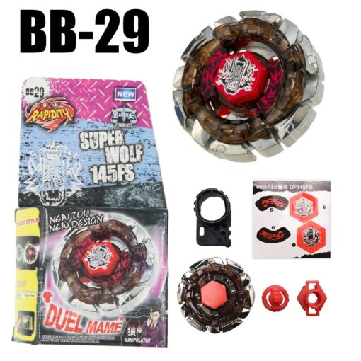 Sol Solar Blaze V145AS Ultimate BB89 Spinning Top Metal Fusion Fight NEW 4D Spinning Top Drop 1