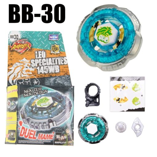 Sol Solar Blaze V145AS Ultimate BB89 Spinning Top Metal Fusion Fight NEW 4D Spinning Top Drop 2