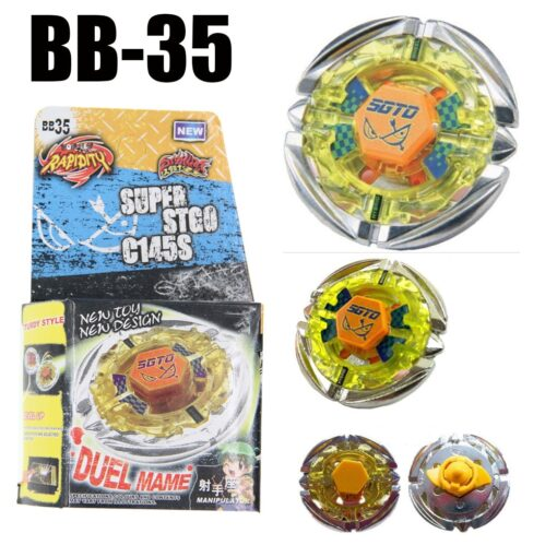 Sol Solar Blaze V145AS Ultimate BB89 Spinning Top Metal Fusion Fight NEW 4D Spinning Top Drop 3