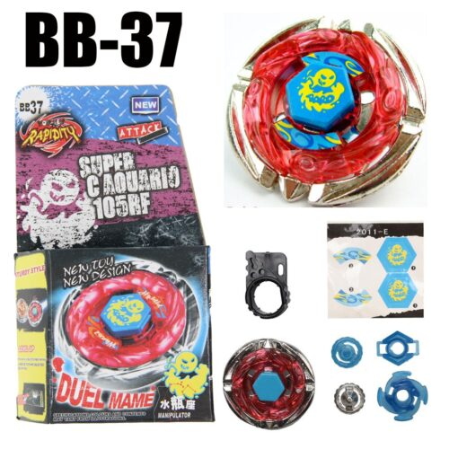 Sol Solar Blaze V145AS Ultimate BB89 Spinning Top Metal Fusion Fight NEW 4D Spinning Top Drop 4
